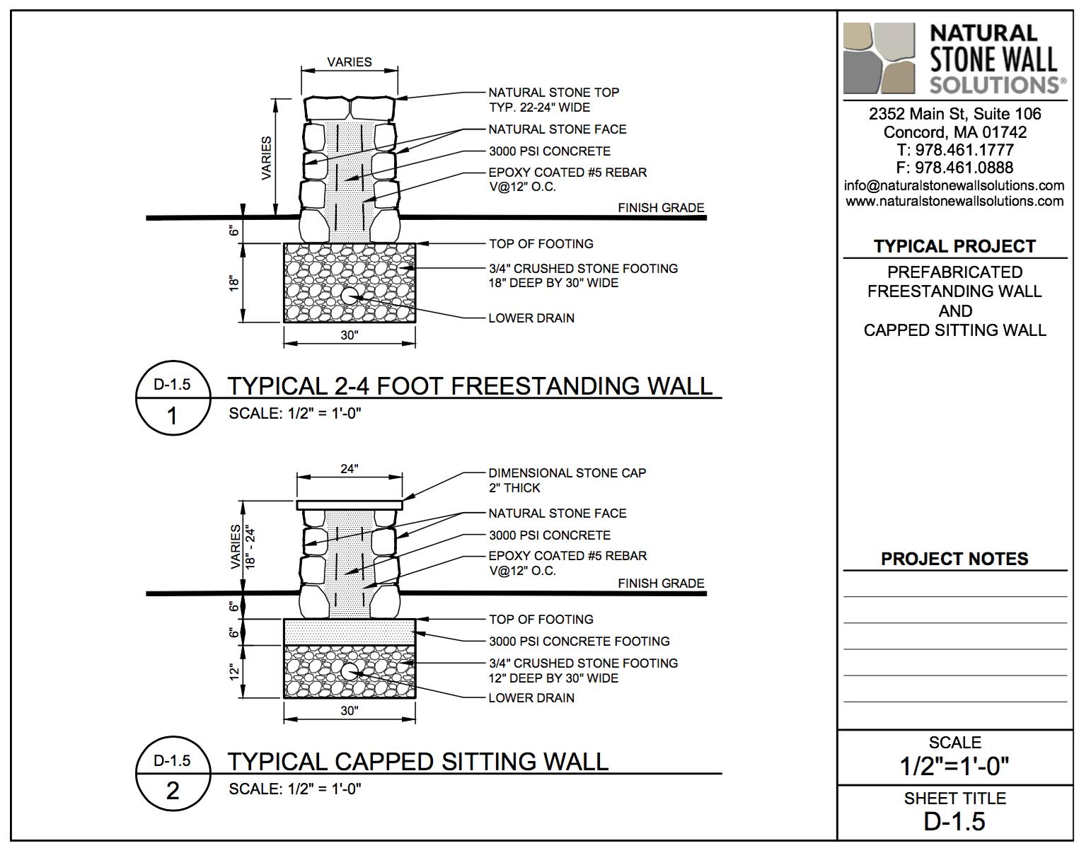 Retaining Wall Engineering Design