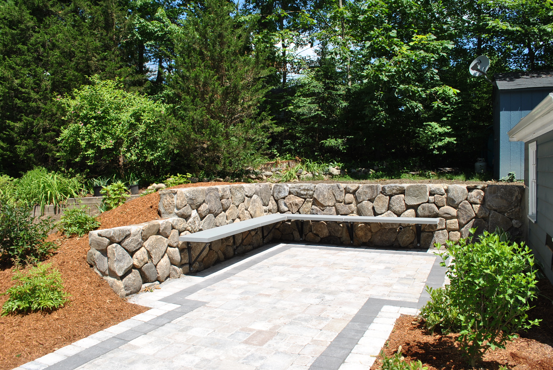 Outdoor Stone Wall Art - Outdoor Designs