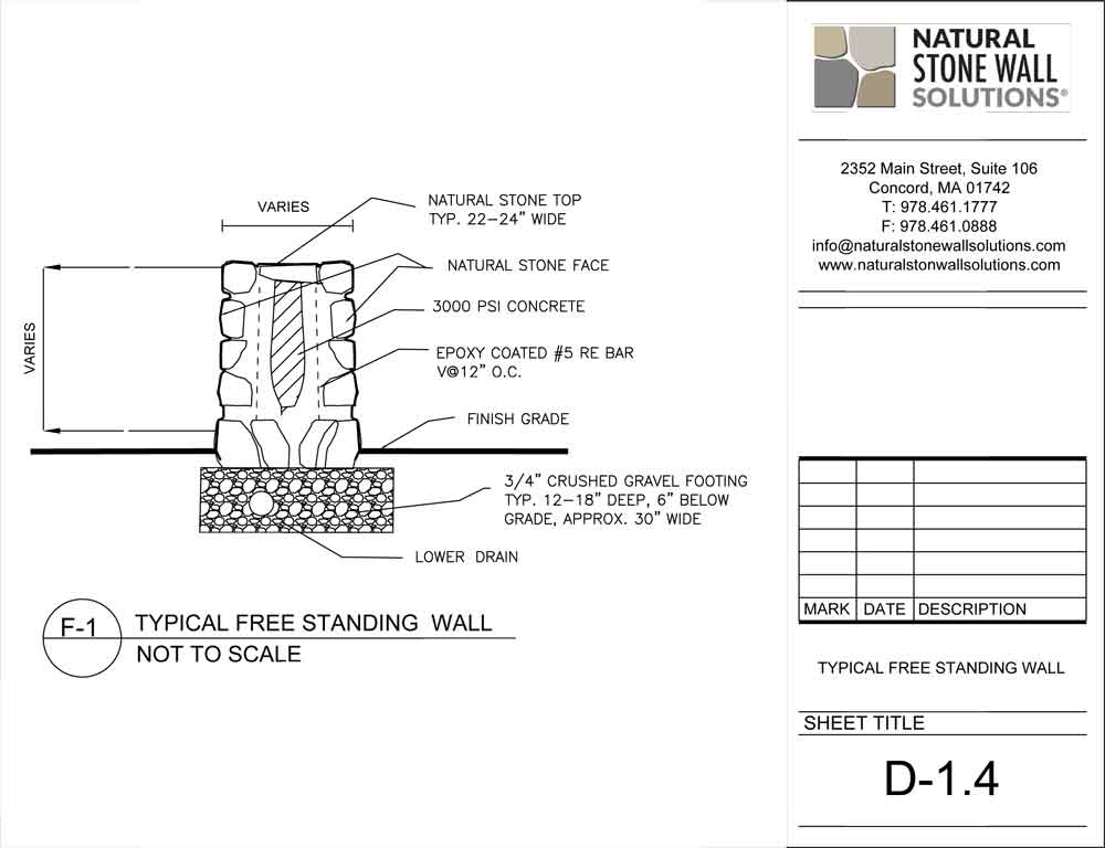 How To Build A Freestanding Block Wall