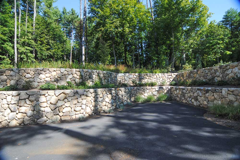 Residental Barn Fieldstone Walls